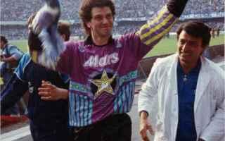 Serie A: calcio  napoli  giuliano giuliani  maradona