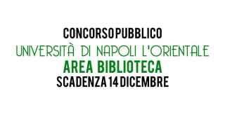 Napoli: università partenope concorso napoli