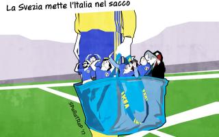Satira: italia  svezia  calcio  mondiale  russia