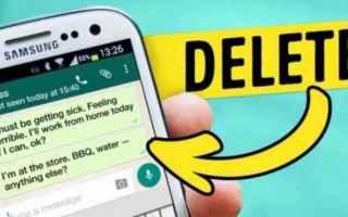 App: whatsapp  recall