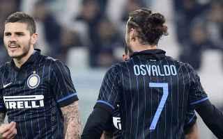 Serie A: inter  juventus  osvaldo