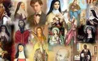 Religione: santi  beati  martiri  calendario