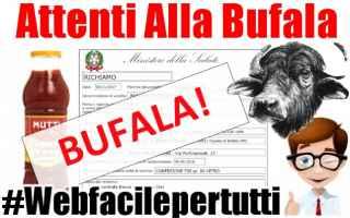 Alimentazione: whatsapp  bufala  mutti  passata  pomodori