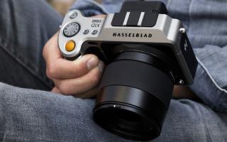 hasselblad  mirrorless fotografia