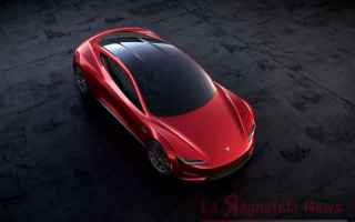 tesla roadster  400 km/h