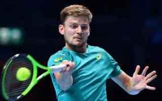 Tennis: tennis grand slam atp finals goffin