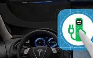 Automobili: auto elettriche  colonnine  android  ios  wp  auto ibride