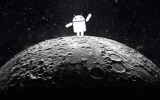 Astronomia: calendario lunare  luna  android  astri