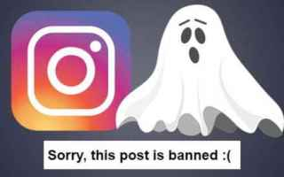 Instagram: instagram  ban  shadow ban