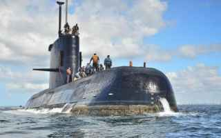 dal Mondo: argentina  sottomarino