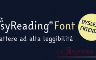 Scuola: Il font per la dislessia è italiano