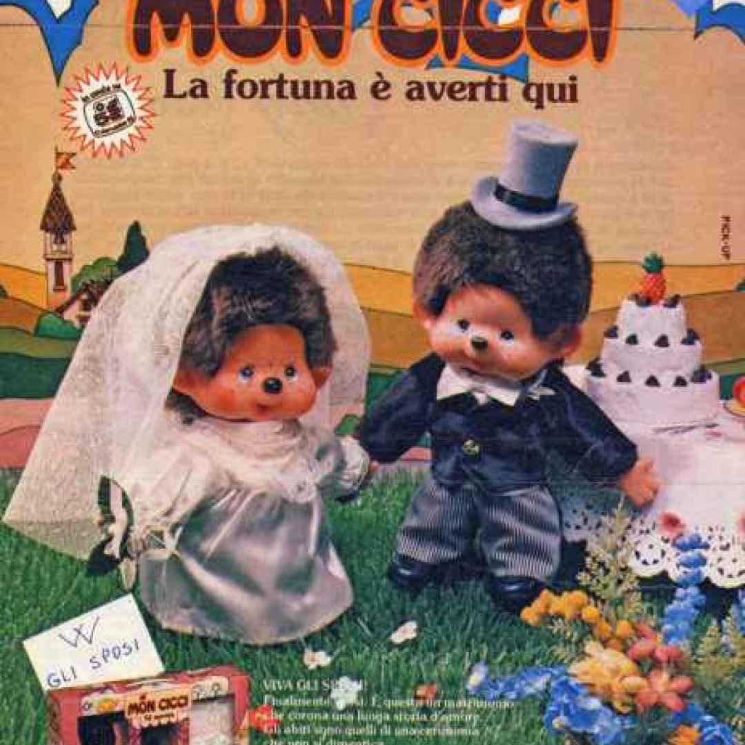 monciccì  cartoni animati  tv  anni 80