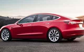Automobili: auto elettrica  tesla model 3