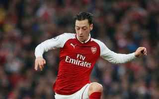 Calciomercato: inter  arsenal  ozil