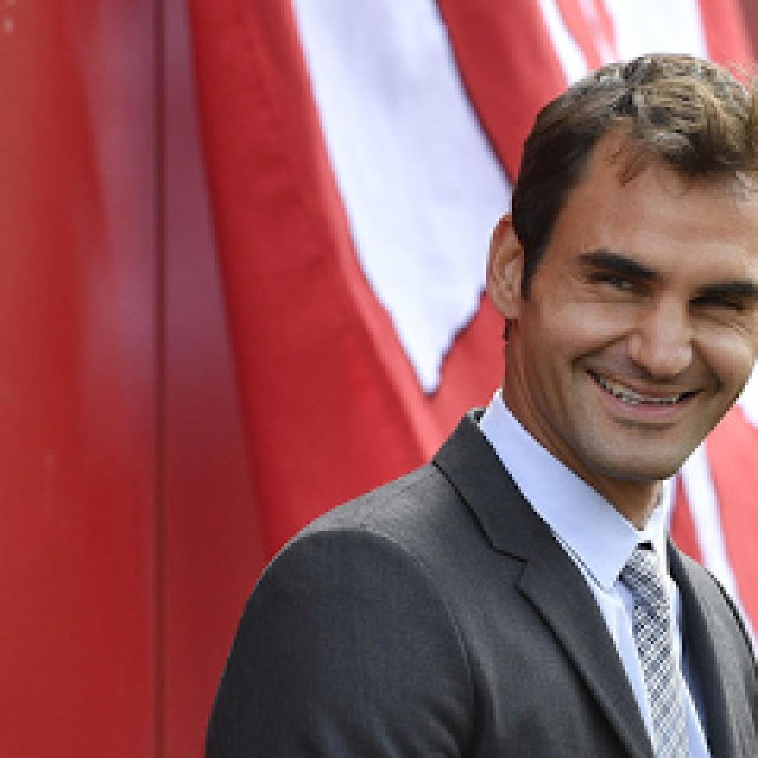 tennis grand slam news federer dottore