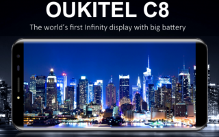 oukitel c8  smartphone  android  tech