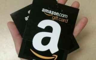 Amazon: amazon buoni regalo  gift card