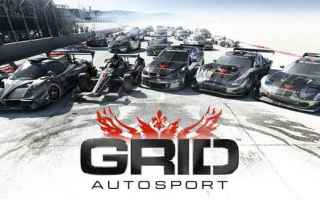 Mobile games: grid  iphone  racing  corse  sport  auto