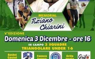Basket: castel bolognese  basket  memorial