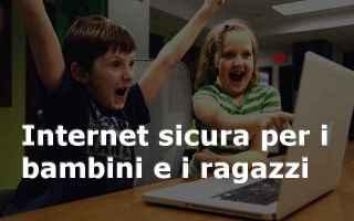Sicurezza: internet  bambini