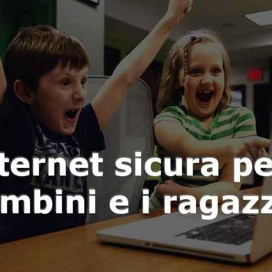 internet  bambini