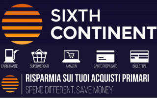 Soldi: sixthcontinent buoni amazon risparmio