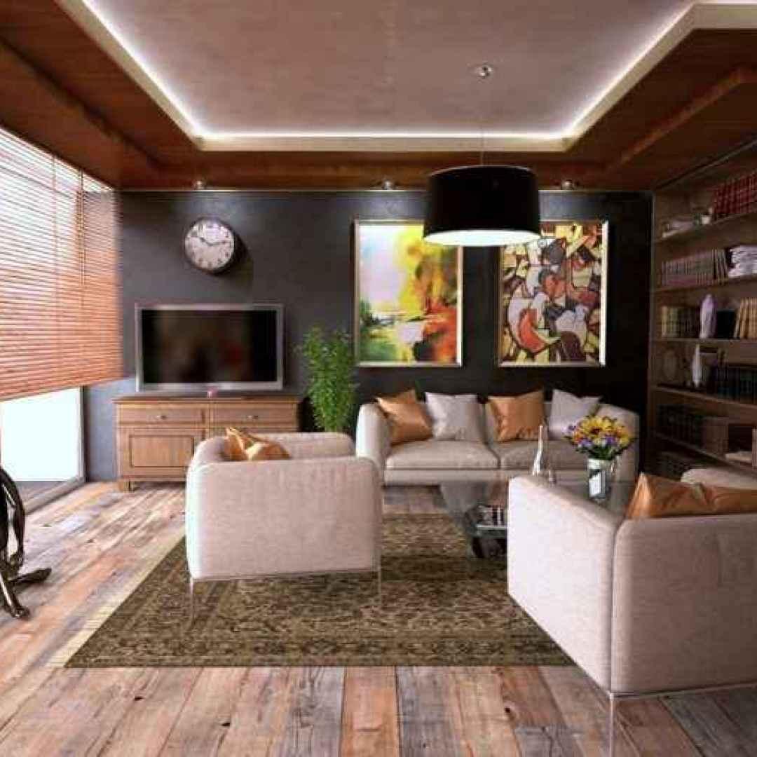 casa interior design colori scuri