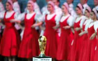 Nazionale: mondiali  russia  sorteggio