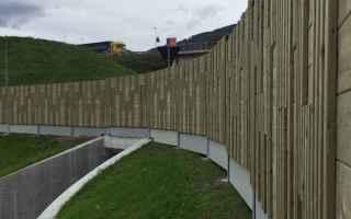 antirumore barriere fonoassorbenti legno