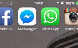 messenger  instagram  whatsapp