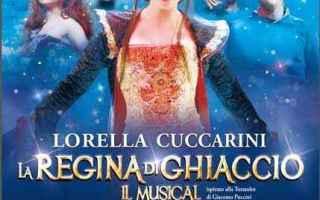 Teatro: la regina di ghiaccio musical cuccarini