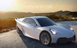 Automobili: sondors  auto  elettrico