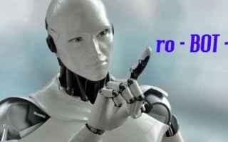 Web Marketing: bot  chapta  robot  intelligenza artific