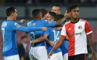 Champions League: napoli  feyenoord  champions league