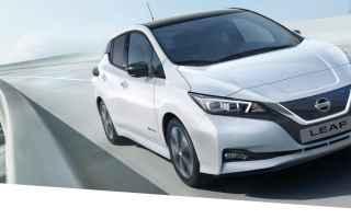 Automobili: nissan leaf  auto elettrica