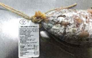 Alimentazione: ritiro dal mercato  salame