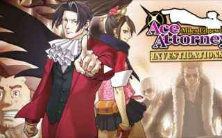 Mobile games: ace attorney capcom android iphone