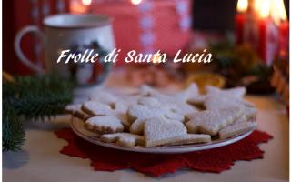 Ricette: cucina  ricetta  biscotti  santa lucia