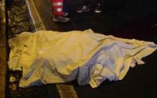 Napoli: Incidente mortale ore 17 a Pianura