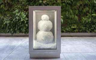 dal Mondo: pupazzo di neve  inverno  neve