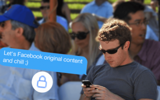 Facebook: commenti  privacy