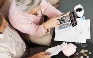 Soldi: importo pensioni  sip