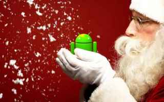 Android: natale android wallpaper