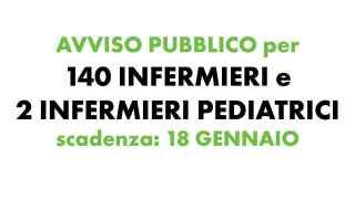 140 infermieri concorso pubblico