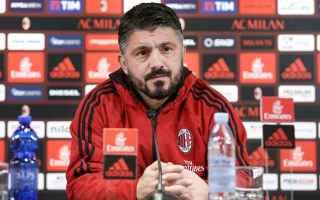 Serie A: milan  serie a  gattuso  berlusconi