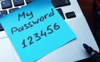 password  sicurezza  privacy