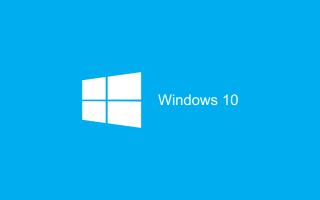 Microsoft: windows 10