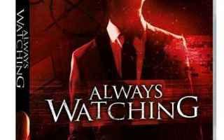 Cinema: slender man horror always watching dvd