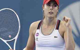 Tennis: tennis grand slam wta premier brisbane