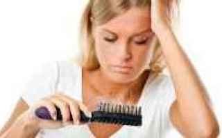 Bellezza: capelli  caduta  stress